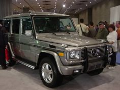 My new company vehicle. A Mercedes G500. It'll get me from a to b :)