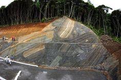 Spectacular Outcrop of Submarine Landslide Deposits | Geology IN