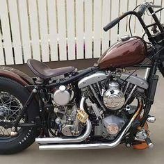 Cb750 Bobber, Ironhead Sportster, Triumph Bobber, Bobber Bikes, Harley Bobber, Chopper Motorcycle, Harley Bikes, Bobber Chopper, Harley Davidson Sportster