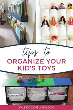 One of the toughest things to keep tidy in a house is the playroom. These ideas for DIY toy organization will help you tame the toy problem and make it simple for the kids to keep it that way!