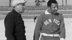 Béla Guttmann Benfica e capitão Mário Coluna