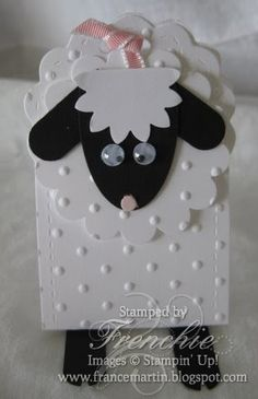 OH! How fun this was to make with the Two Tag Die. Last week I started to show you some fun little creature for Easter and I got a comment f...