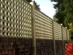 Cool Privacy Fence Wooden Design for Backyard 14 Privacy Fence Designs, Privacy Fences, Privacy Panels, Fence Panels, Fencing, Privacy Screen Outdoor, Backyard Privacy, Garden Privacy, Trellis Fence