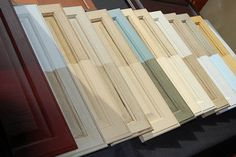Redo kitchen cabinets without sanding, priming, etc.  Interesting product