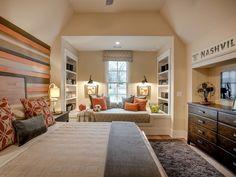 dormitorio para adolescentes con colores neutrales