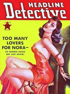 Headline Detective - October 1941