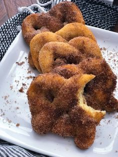 Soft, chewy, low carb and full of flavor! These Keto Cinnamon Pretzels are the perfect snack, especially when you're craving something sweet!