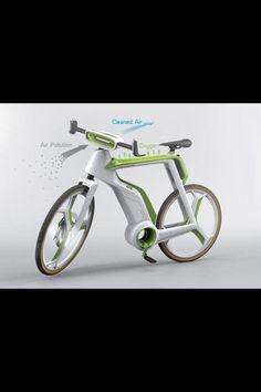 Bici doblemente ecológica