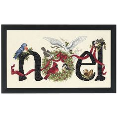 Janlynn 14 Count Noel Counted Cross Stitch Kit, by Cross Stitch Love, Counted Cross Stitch Patterns, Cross Stitch Designs, Cross Stitch Embroidery, Theme Noel, Christmas Embroidery, Noel Christmas, Xmas, Embroidery Kits