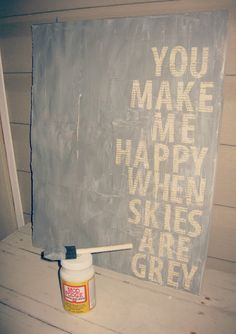 diy canvas quotes. another great use for old book pages!