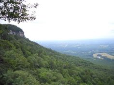 Pilot Mountain, NC - At the bottom of this mountain in the tiny town of PINNACLE is where I grew up. I miss Stokes County!!
