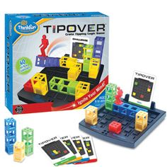 Tipover is my absolute favorite ThinkFun game and such a great fit for Sharp As A Tack!