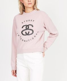 STUSSY INTERNATIONAL PIGMENT DYED CREW  718ad2823e