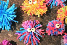 Valentine's Day: Love Bug Pom Pom Craft | The Mini Mes and Me