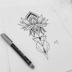 WEBSTA @ md_mironenko - Свободный #blacktattooart #tattoosketch #ornamentaltattoo #dotwork