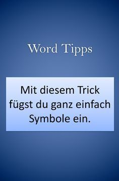 Word Tips: Easily insert special characters and symbols into a document. - Word Tips: Easily insert special characters and symbols into a document. Office tips to improve IT - # Computer Humor, Computer Internet, Computer Programming, Positive Quotes For Life, Happy Quotes, Nikola Tesla, Famous Quotes From Songs, Old Computers, Computers
