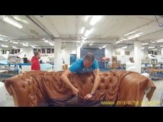 DIY-HOW TO UPHOLSTER A TUFTED HEADBOARD. LAURA L. - ALO Upholstery - YouTube