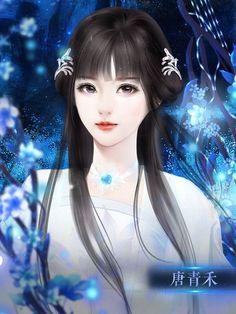 Beautiful Chinese Girl, Beautiful Fantasy Art, Manga Girl, Anime Art Girl, Best Romance Manga, Fantasy Art Angels, Anna Disney, Autumn Illustration, Lovely Girl Image