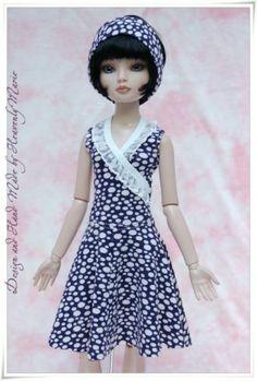 One Piece Sleeveless Dress for Ellowyne or Lizette by heavenlymarie | eBay SOLD 6/20/14 $36.99