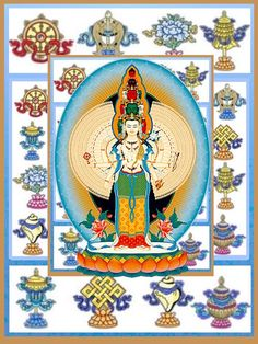 Yeshe tsogyal protector of the dharma padmasambhavamandarava tibetan art buddhist art buddhism symbols spirituality mandala tibetan buddhism icons buddha art fandeluxe Images