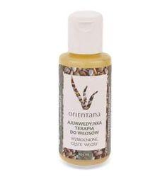 Orientana - Ajurwedyjska terapia do włosów. Naturalna terapia do włosów wypadających i osłabionych. Stworzona według zasad indyjskiej ajurwedy. Odpowiednio dobrane ekstrakty i olejki roślinne wzmacniają osłabione włosy i zatrzymują wypadanie.