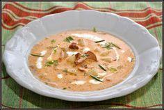 ŐRÜLTEN  JÓ ÉTELEK : Nyulica és krumpli avagy Most a legjobb Cheeseburger Chowder, Thai Red Curry, Soup, Cooking Recipes, Ethnic Recipes, Chef Recipes, Soups
