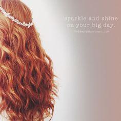 kristin ess wedding hair the beauty department