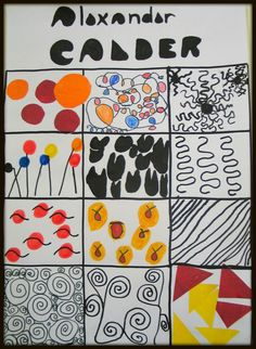 Image result for picking out aspects of calders art