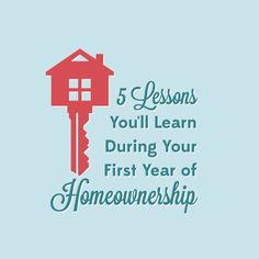 First time home owner? Here are five lessons you'll walk away with during your first year of home ownership. #ggmr