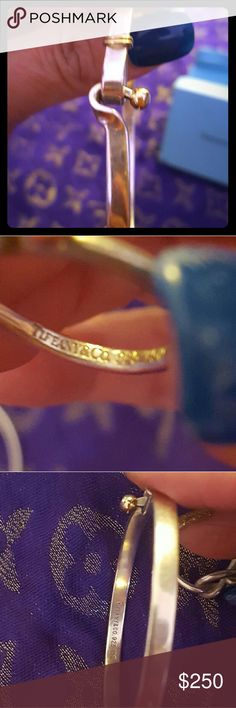 Tiffany bangle With 18k gold accent..Thanks for sharing this item 😉😉 Tiffany & Co. Jewelry Bracelets