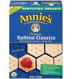 Organic Saltine Classic Crackers - Annie's Homegrown