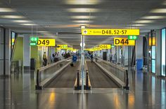 Schiphol Airport, Gate D, Amsterdam, The Netherlands