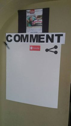YouTube party comment board guest book