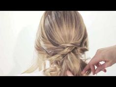 JennieKay Tutorials TWISTED UP DO with Style Me Pretty and Elysium Productions - YouTube