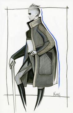 Design & Illustration by Paul Keng | Copic 11 x 17 | @paulkengillustrator