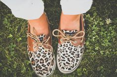 Leapord print Sperry's! So cute