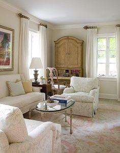 Dunn Edwards Whisper Gray #DunnEdwards Formal Living Rooms, Home Living  Room, Living Room