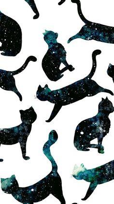 Find the best Nyan Cat iPhone Wallpaper on GetWallpapers. Wallpaper Gatos, Cat Pattern Wallpaper, Iphone Wallpaper Cat, Tier Wallpaper, Cute Cat Wallpaper, Drawing Wallpaper, Animal Wallpaper, Galaxy Wallpaper, Computer Wallpaper