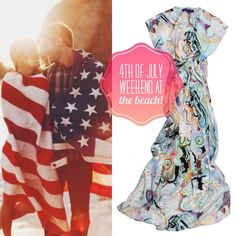 After spending the day at the beach or poolside, wouldn't you just love to slip into a beautiful & comfortable Maxi dress to watch the fireworks?!  The Taryn Maxi dress is perfect for any summer weekend.   With it's dazzling pattern and light as air fabric you'll feel stylish & comfy.   Originally Retail $265,   here on my www.MyShirtMyLife.com it's only $198.98!!!  Your savings are $66.25!!!  Just in time for the heat!