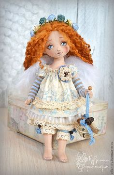 Arichka-rothaariger Engel