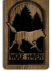 Even though this is one of my Favorite Places, I've never been there...YET!! Wolf Haven International - check into it!