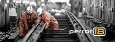 We timmeren aan de weg en werken aan het spoor!