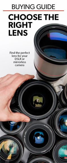 Crutchfield's guide explains how the right lens can help you take great photos. In everyday language we outline the different types of lenses and explain what they do. Dslr Or Mirrorless, Canon Lens, Photography Tips, Outline, Lenses, Language, Cameras, Rabbit, Photos