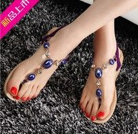 I think you'll like 2015 Fashion Rome Vintage Women Shoes Summer flat  Sandals Slippers Flat Heel Flip-Flop Flip Casual Sweet Sandals 35-40. Add it to your wishlist!  http://www.wish.com/c/5508f1037bf70f1a5f7720e0