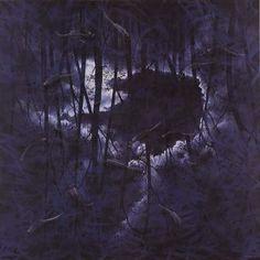 Lin Onus  Moonlight at Numerili 2  1995  Synthetic polymer paint on canvas  182 x 182 cm  $300,000 AUD