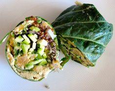 Collard Lettuce Wraps