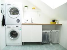 you don't have to spend a lot to be awesome. Pantry Laundry Room, Laundry In Bathroom, Laundry Rooms, Dressing, Spare Room, Home Interior Design, Home Projects, Kitchen Decor, Sweet Home