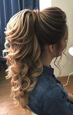 DIY-Pferdeschwanz-Ideen, die Sie bis 2019 wollen DIY Ponytail Ideas You Want to 2019 – DIY Ponytail Ideas You're Totally Going to Want to 2019 Formal Ponytail Hairstyle; Hairstyle for 2019 trend; High Ponytail Hairstyles, High Ponytails, Bride Hairstyles, Ponytail Ideas, Ponytail Haircut, Hairstyles Haircuts, Prom Ponytail Hairstyles, Halloween Hairstyles, Hairstyle Short