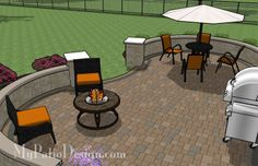 Perfect brick patio patterns brick patio basket weave pattern outdoors patio pinterest - Types fire pits cozy outdoor spaces ...