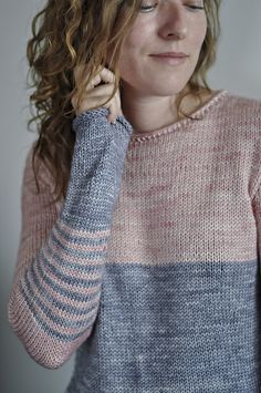 Knit sweater pattern